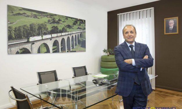 ENRICO AMBROGIO – PRESIDENTE DI ECOTYRE, L'AZIENDA CHE DÀ NUOVA VITA AGLI PNEUMATICI FUORI USO