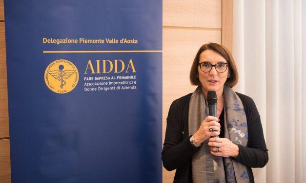 MARISA DELGROSSO – AD DELGROSSO SRL E PRESIDENTE DELLA DELEGAZIONE PIEMONTE E VALLE D'AOSTA DI AIDDA