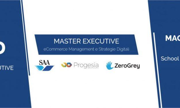 SAA, ZEROGREY, PROGESIA – ORGANIZZATORI DEL MASTER IN ECOMMERCE MANAGEMENT E STRATEGIE DIGITALI
